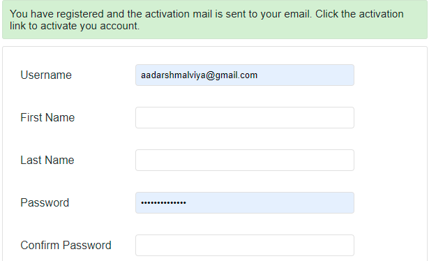 Sending Activation Link to Email in Php mysql